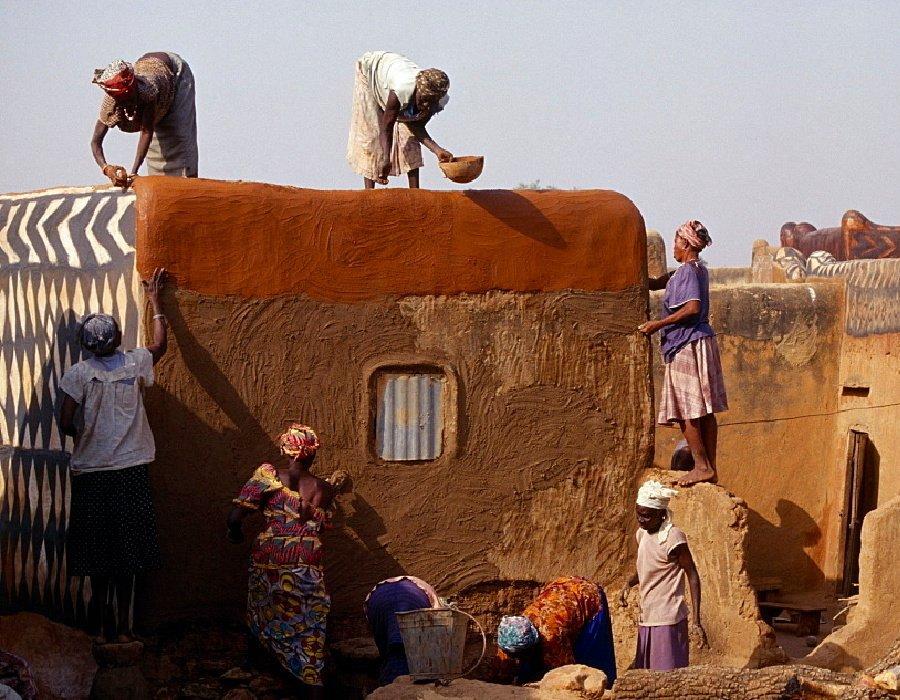 Village de Tiébélé afrique