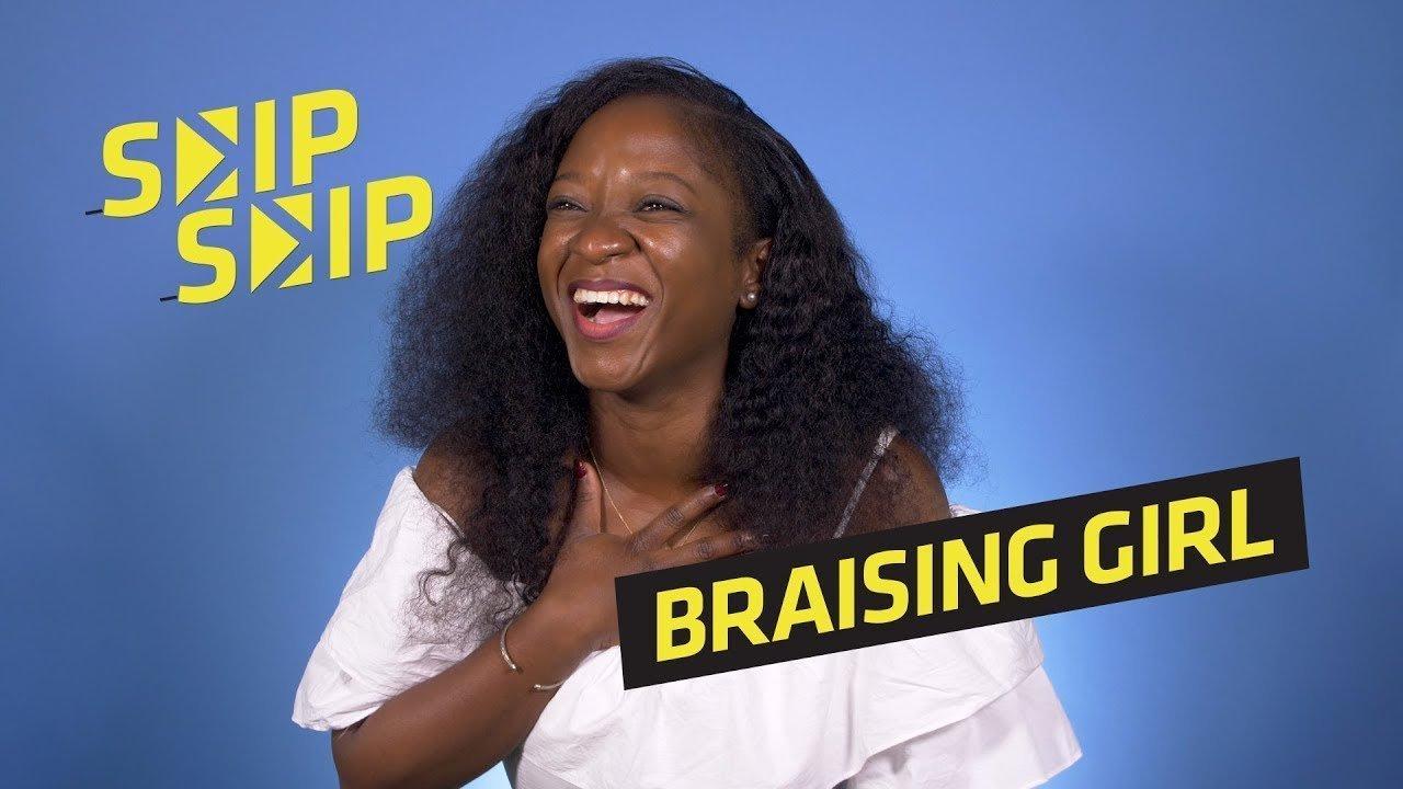 Braising girl
