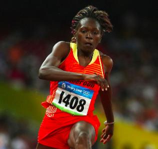 Francoise Mango, parmi les 10 meilleurs athlètes africains