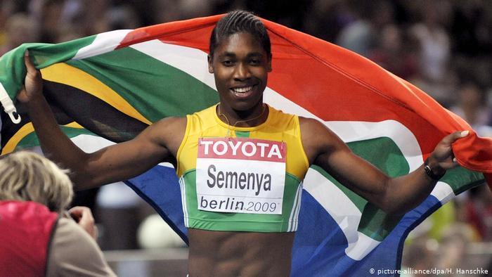 Caaster Semenya, parmi les 10 meilleurs athlètes africains