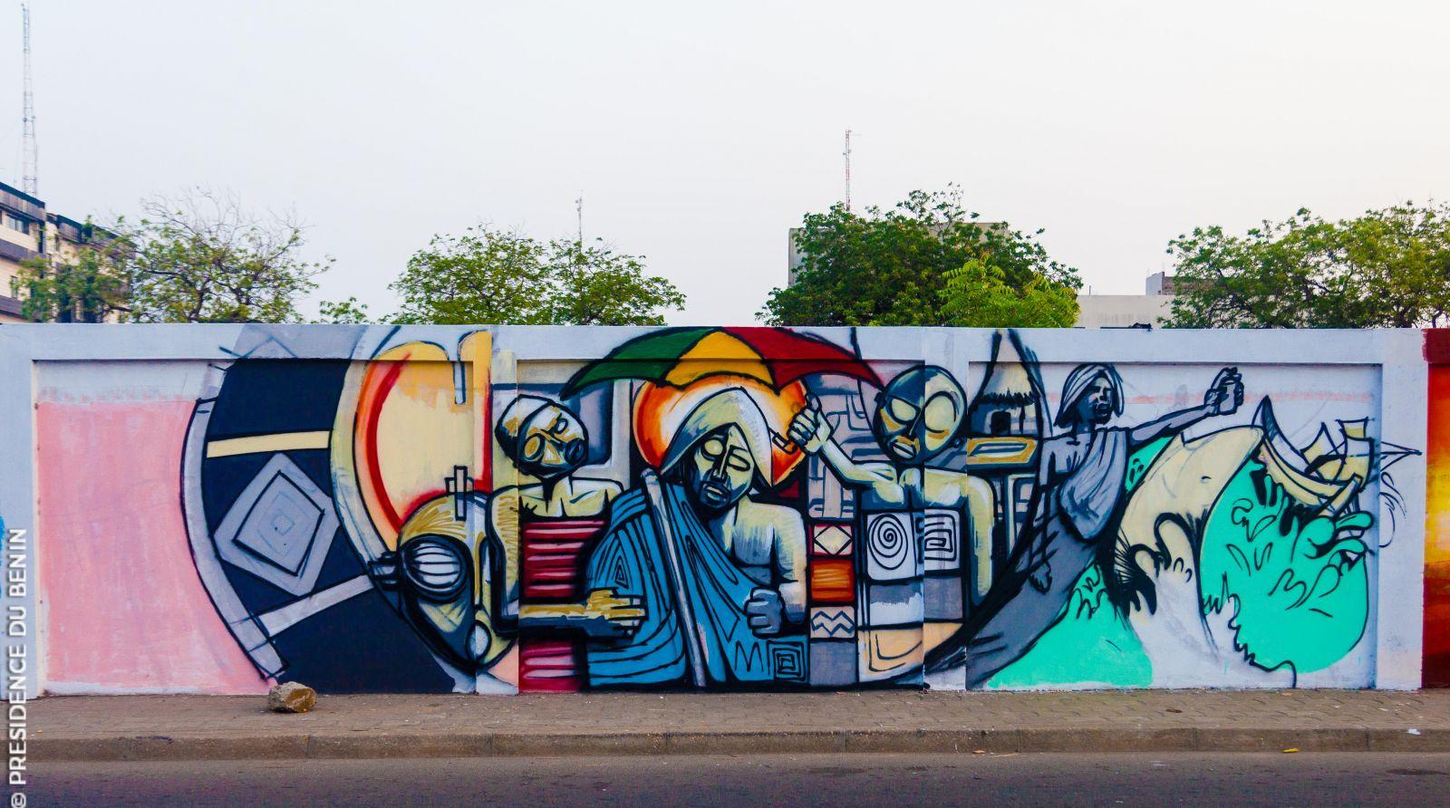 Mur du patrimoine Bénin