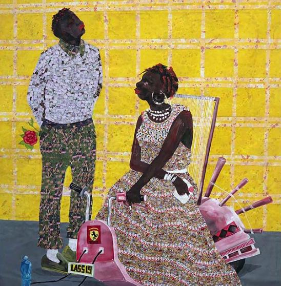 « Ferrari Rose », Alhassane Konté, Galerie Mémoires Africaines